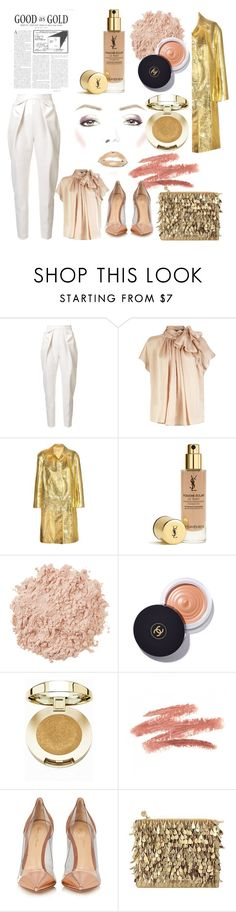 """My Off Day (THU)"" by ladyyana87 ❤ liked on Polyvore featuring Delpozo, Miu Miu, La Mer, Chanel, Milani, Gianvito Rossi and Forest of Chintz"