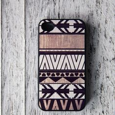 Geometric iPhone 4/4S Case White, now featured on Fab.