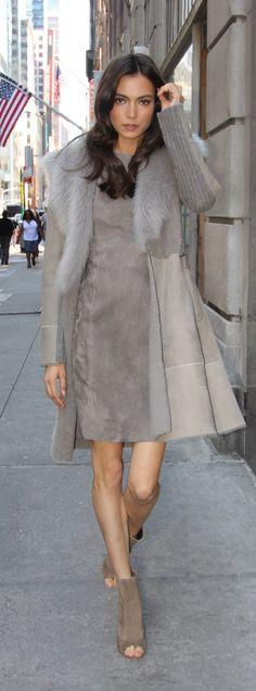 The Tabitha shearling coat.