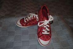 Coach Barrett Ruby Sneaker NWOB Size 8,8.5