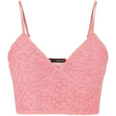 maurices Embroidered Floral Bralette In Peach found on Polyvore