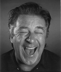 Alec Baldwin (April 1958 - ) on the AOL Anniversary Campaign ad, He is now 57 years old.