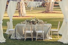 I loveeee this! How pretty would something like this be for tables outside since it is an evening wedding? Tea Party Wedding, Chic Wedding, Wedding Trends, Wedding Vintage, Dream Wedding, Vintage Tea, Elegant Wedding, Wedding Blog, Rustic Wedding