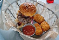 Pocket Burger at ABV.