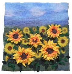 Sunflowers by Yvonne Le Mare