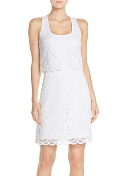Lilly Pulitzer® Lace Popover Dress available at #Nordstrom
