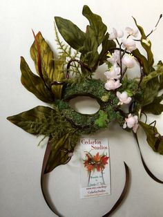 Faery Fairy Art Mask Costume Theatre play by CedarfoxStudios