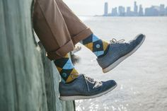 Know what you give back when you buy. In partnership with Conscious Step, each pair of water socks provides 18 months of safe water for one person. Click to support Water.org.