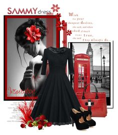 """""""SAMMYdress"""" by zeljanadusanic ❤ liked on Polyvore featuring Shades of Grey by Micah Cohen and sammydress"""