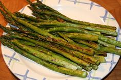 Tarragon Roasted Asparagus 1 pound asparagus trimmed thin spears or thick spears) tablespoonextra-virgin olive oil teaspoon tarragon teaspoon garlic powder teaspoon. Daniel Fast Recipes, Vegetarian Recipes, Healthy Recipes, Simple Recipes, Healthy Meals, Delicious Recipes, Diet Recipes, Cooking Recipes, Daniel Fast