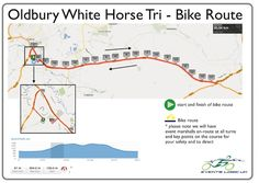 Bike Route Oldbury White Horse Sprint Triathlon 5th May | Events Logic UK | Be Part Of It!
