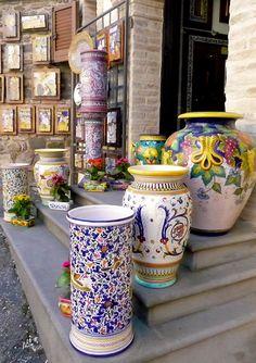 ~Deruta Pottery~