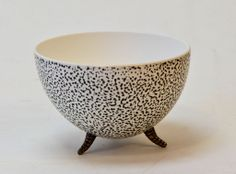 Charcoal Speckled UP-Right bowl Woodturning, Decorative Bowls, Charcoal, Egg, Tableware, Home Decor, Products, Eggs, Wood Turning