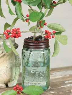 9 new was to decorate using mason jars on WomansDay.com.