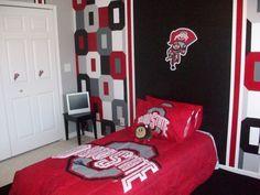 Ohio State Bedroom Decorating Ideas Boy Room Boys Room Designs