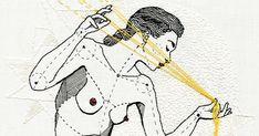 En lo más fffres.co: Anatomía femenina bordada con hilo y aguja: La artista norteamericana Andrea B. Farina hace un delicado estudio…