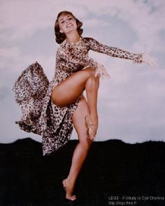 Cyd Charisse...great dancer! Best legs in the business.......love Cyd!