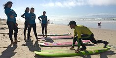 For the first time, women will take part in Mavericks surfing competition Roxy Surf, Learn To Surf, Surf Girls, School Fun, First Time, Beach Mat, Bathing, Competition, Surfing
