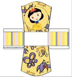 Branca de Neve Menina – Kit Completo com molduras para convites, rótulos para guloseimas, lembrancinhas e imagens! | Fazendo a Nossa Festa