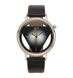Beautiful Shock Resistant, Water Resistant leather band ladies watches can be worn to any affair. This quartz ladies wristwatch can be worn with shorts, office wear or an evening outfit. It is as if you have three watches in one. Simple Watches, Elegant Watches, Casual Watches, Cool Watches, Fashion Watches, Michael Kors Watch, Black Silver, Woman Fashion, Ladies Fashion