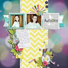 Be Awesome Today - Scrapbook.com
