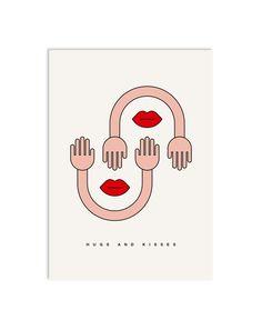 #0071 euphoria, Postkarte DIN A6, www.redfries.com