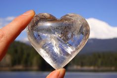 Clear Quartz Heart ~ Into The Heart of the Divine ~ Rainbow Sparkle Magic to enhance your life and Create your Hearts desires~ by LightRadiance on Etsy Higher State Of Consciousness, Crystal Guide, Power Colors, Deep Meditation, Divine Light, Feminine Energy, Clear Quartz Crystal, Healing Crystals, Third Eye
