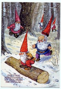 Winter gnomes