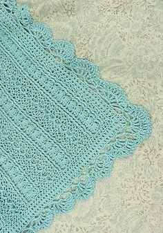 Free crochet pattern baby blanket