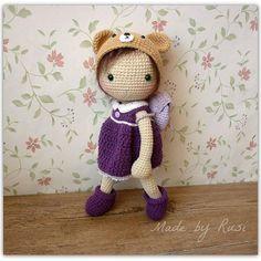#crochet #crochetdoll #amigurumi #rusidolls #madebyrusi