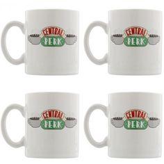 Set Tasses à Café Central Perk - Friends