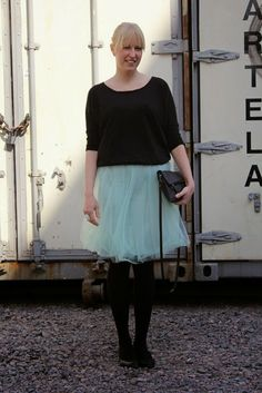 Outfit with tulle skirt / Kotisaari
