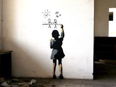 http://www.smosh.com/smosh-pit/photos/banksy-worlds-most-famous-graffiti-artist  Banksy