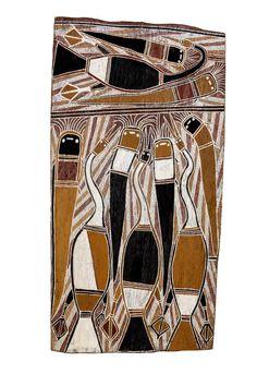 Aboriginal Bark Painting
