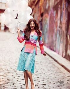 View Photo of Bollywood Actress Sonam Kapoor Photoshoot For Vogue January 2016.