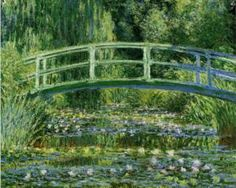The Japanese Bridge (The Water Lily Pond) - Claude Monet, 1897-1899