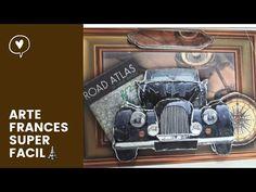 Arte francés, de una manera muy sencilla. Falso arte francés #gracielaherman - YouTube