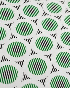 Viscose Jersey Fabric | Striped Circles and Triangles | Truro Fabrics For Myrtle dress?