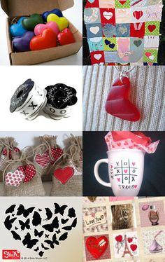 Valentines Day Love Many Things by Times Three Vintage on Etsy--Pinned with TreasuryPin.com