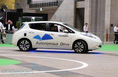 Nissan's autonomous Leaf shows its smarts on Japanese test track