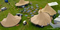 Marquee hire for festivals, hire eye catching  giant tipis | Tipikata   Great for Country Music Festival