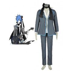 Vocaloid Black Kaito Cosplay Costume comes from www.eshopcos.com