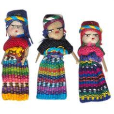 Sorgenpüppchen aus Guatemala von A la Siesta