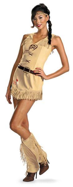 Lone Ranger Sassy Tonto Indian Dress Costume Adult