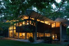 painted mid-century modern houses - Google Search