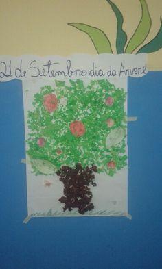 Dia da árvore,  #criatividadeInfantil 2 período.