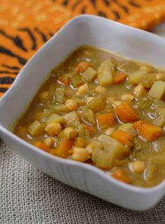 Chickpea and Turnip Stew