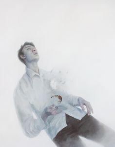 By Henrik Aarrestad Uldalen Henrik Uldalen, What Is Contemporary Art, Community Art, How To Fall Asleep, New Art, Surrealism, Illustrators, Art Gallery, Drawings