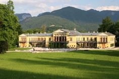 Kaiservilla, Bad Ischl - summer capitol for Kaiser Franz Josef I (r. Dachstein Austria, Die Habsburger, Impératrice Sissi, Places Ive Been, Places To Go, Franz Josef I, Tirol Austria, Villa, Holy Roman Empire