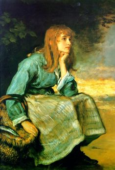 John Everett Millais. English Pre-Raphaelite Painter (1829 - 1896)